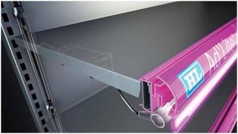 Lite led sistema di illuminazione scaffali
